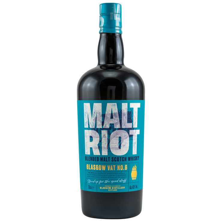 Glasgow Vat No. 6 Malt Riot Blended Malt Scotch Whisky