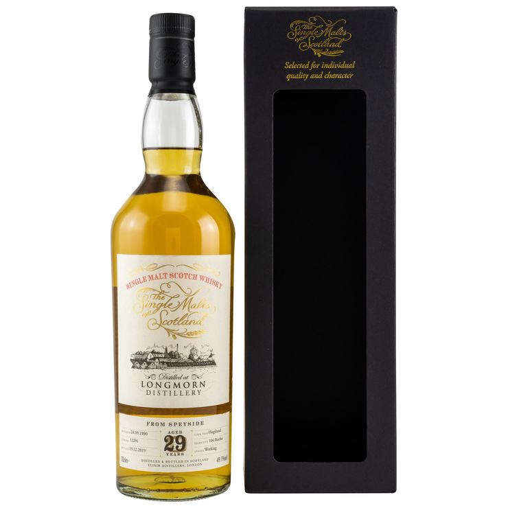 Longmorn 1990/2019 The Single Malts of Scotland