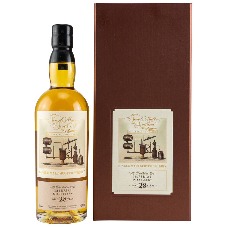 Marriage of Casks Imperial 28 Jahre The Single Malts of Scotland