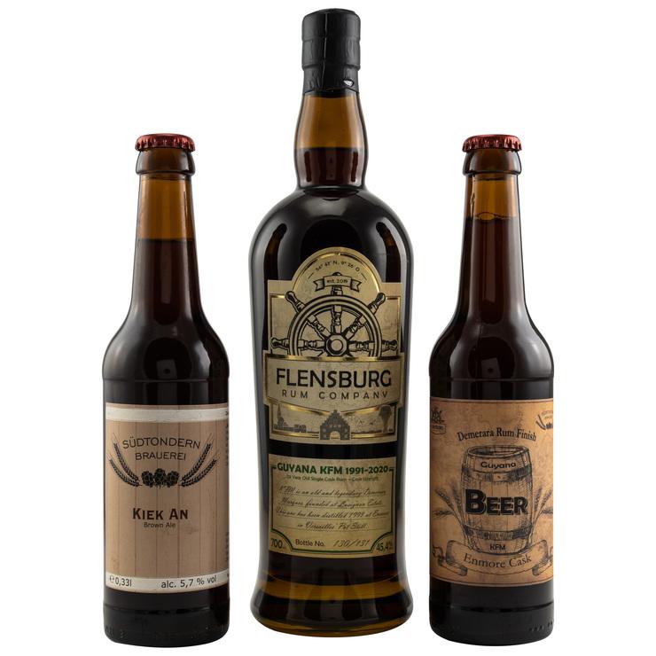 Flensburg Rum mit Bier