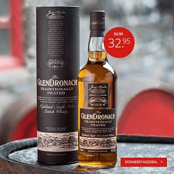 GlenDronach Traditionally Peated 70cl