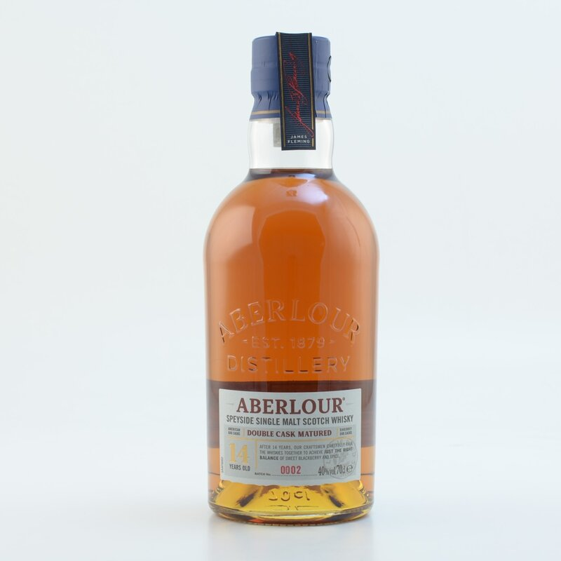 Aberlour »14 Jahre Double Cask« Speyside Whisky 40% 0,7l