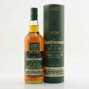 Glendronach 15 Jahre Revival Malt Whisky 2019 Edt 46% 0,7l
