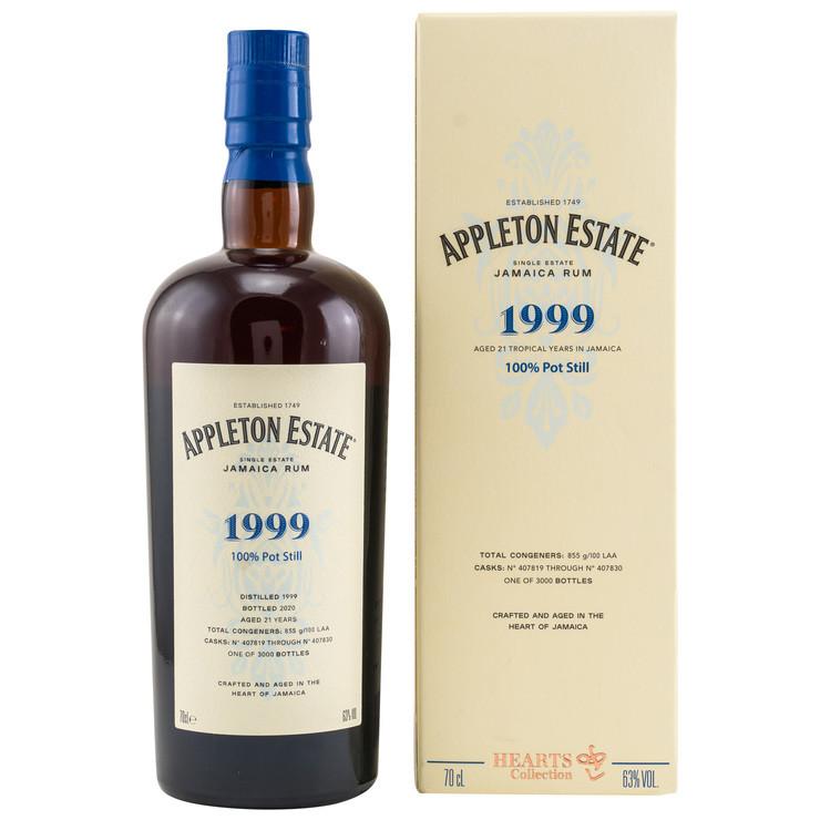 Rum Appleton Hearts Collection aus dem Herzen Jamaikas