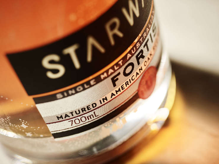 Australischer Whisky Starward Fortis 50% vol. – super Destillerie
