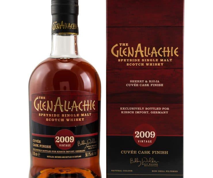 The GlenAllachie Speyside Single Malt Scotch Whisky