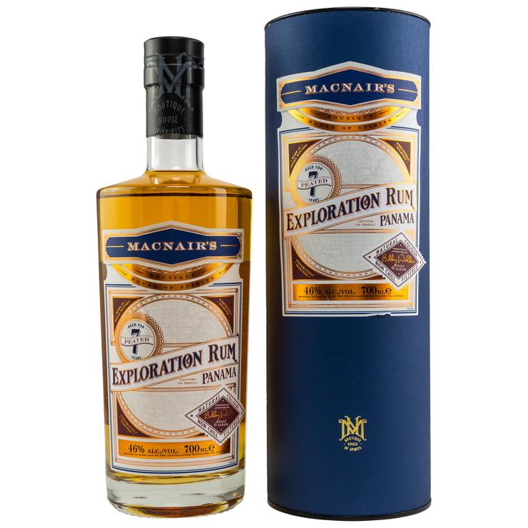 Exploration Rum Panama 7 y. o. Peated